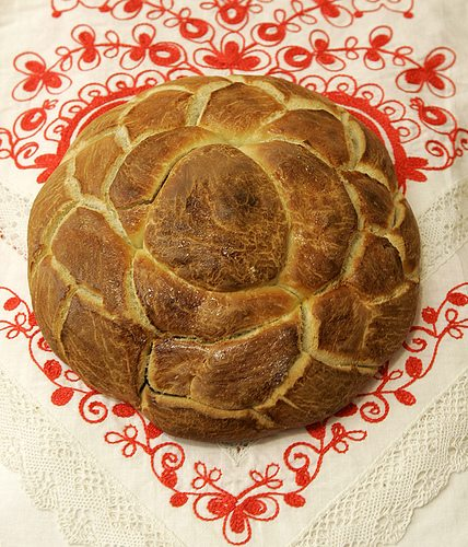 Česnica (Чесница) – Serbian Christmas Bread