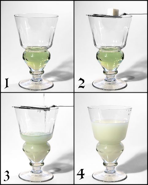 Absinthe drink recipes